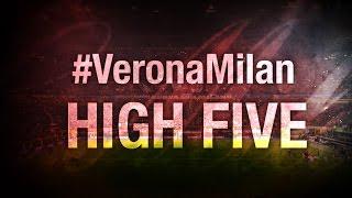 High Five #VeronaMilan | AC Milan Official