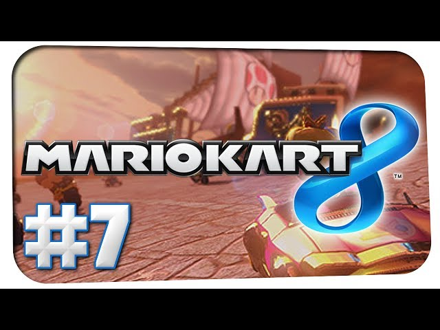 Let's Play Mario Kart 8 [#7] - 150ccm Blitz Cup