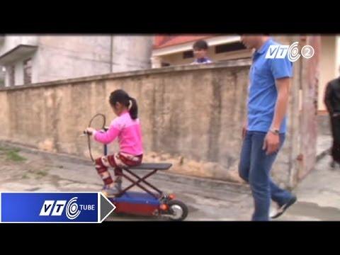 Xe đạp điện tự chế gập gọn như vali | VTC
