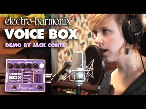 Electro Harmonix Voice Box Vocoder & Harmony Effects Pedal for Guitar & Keyboard