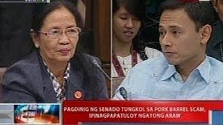 Pagdinig ng Senado kaugnay ng pork barrel scam (Sept. 26, 2013 - Part 4)