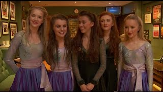 New Riverdance Dancers - Showtime on the Gaiety Stage Dublin!