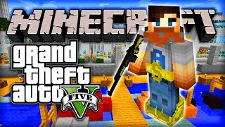 "Minecraft GTA 5 Mod - Episode #1 w/ Ali-A! - ""GRAND THEFT AUTO V IN MC!"""