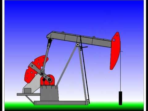 Brief Oil Pump Jack Animation Youtube