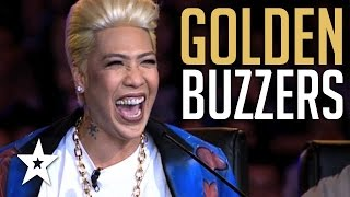 Amazing Golden Buzzer Auditions On Pilipinas Got Talent!