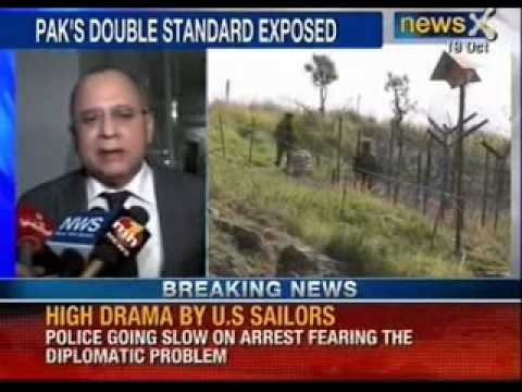 BSF lodges protest with Pakistan over ceasefire violations- NewsX