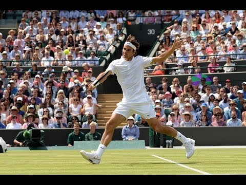 Highlights Day 8: Federer flies past Robredo - Wimbledon 2014