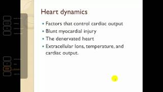 Chapter 12 The cardiovascular system Heart Part 2