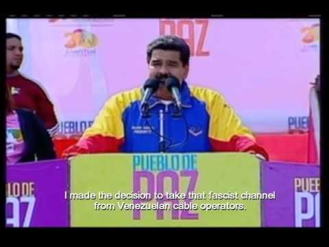 Nicolás Maduro, calls NTN24