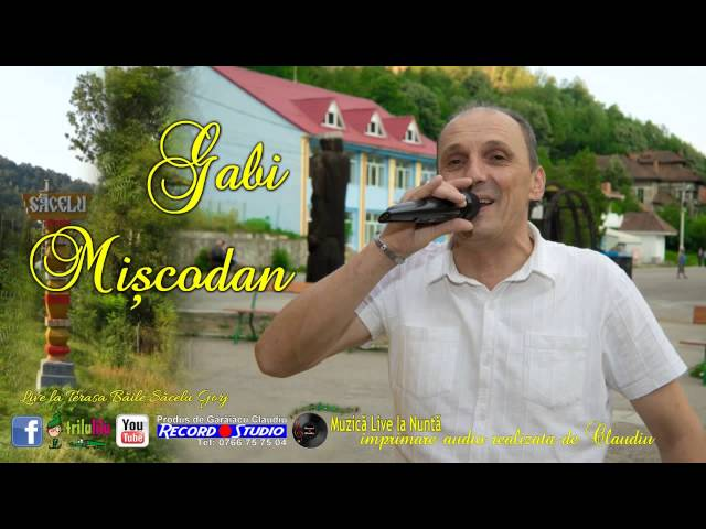 Gabi Miscodan - Nu-s carunt degeaba - LIVE- Imprimare Audio-Claudiu Record Studio