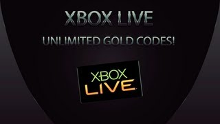 How To Get Unlimited Xbox LIVE 14 Day Gold Membership