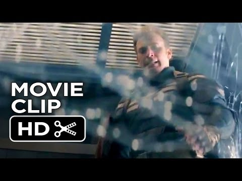 Captain America: The Winter Soldier Movie CLIP - Elevator (2014) - Chris Evans Movie HD
