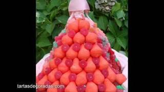 Tarta De Princesa De Chuches O Gomitas