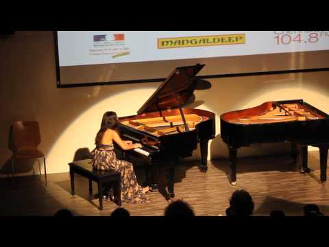 Debussy Clair de lune and Chopin Ballade in G Minor from 5.10 #Fetedelamusique