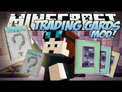Minecraft | TRADING CARDS MOD! (Booster Packs, Rare Cards & TDM Cards!!) | Mod Showcase