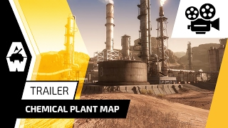 Armored Warfare - Chemical Plant Trailer