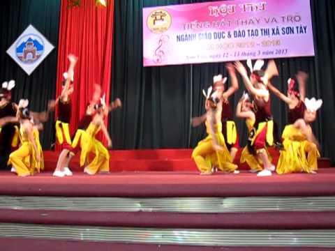 Múa Dòng Máu Lạc Hồng - 9B- THCS KIM SƠN