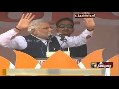 Narendra Modi hits back at Sonia Gandhi.