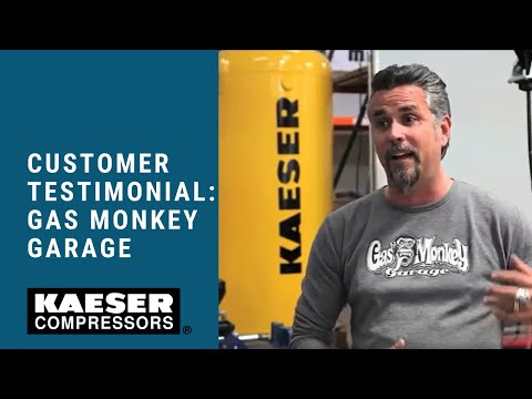Kaeser Compressors Customer Testimonial: Gas Monkey Garage