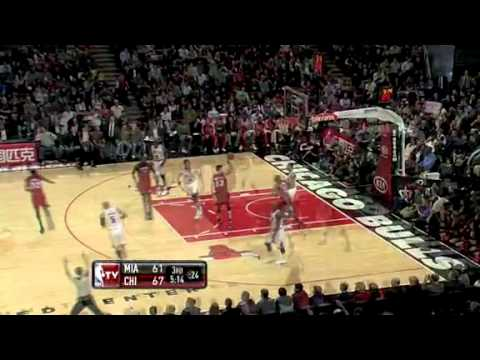 Miami Heat @ Chicago Bulls NBA 15th January 2011