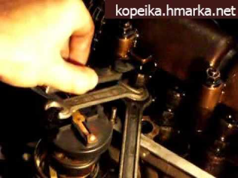 Регулировка клапанов на двигателе 5A-FE. Самый тонкий момент