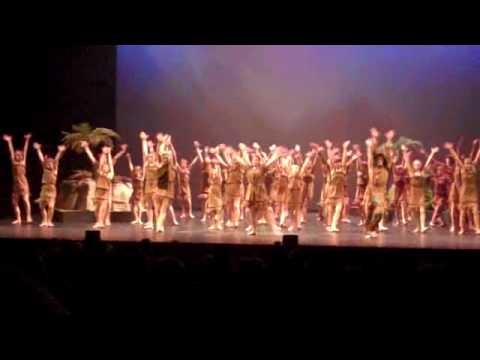 Peter Pan Indian Dance  - Tiger Lily ( nytc )
