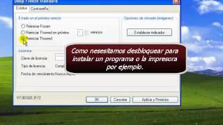 DeepFreeze: Activar O Desactivar