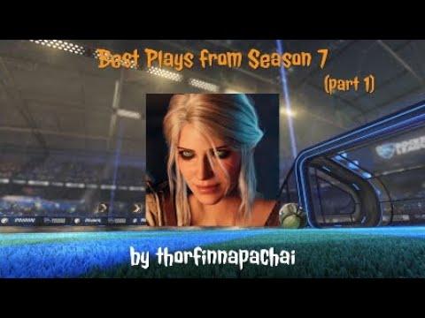 Best Goals from Season 7 Rocket League part 1