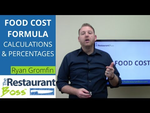 Food Costs Formula: How to Calculate Restaurant Food Cost Percentage