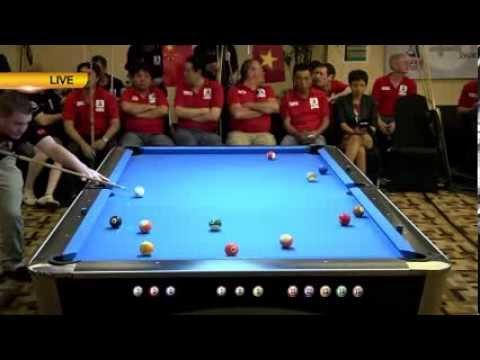 Ted Smith (Shanghai) vs Mark Benipayo (HoChiMinh)