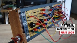 ARTURIA RackBrute First Look & Let's Build A Mini Eurorack SYNTHESIZER