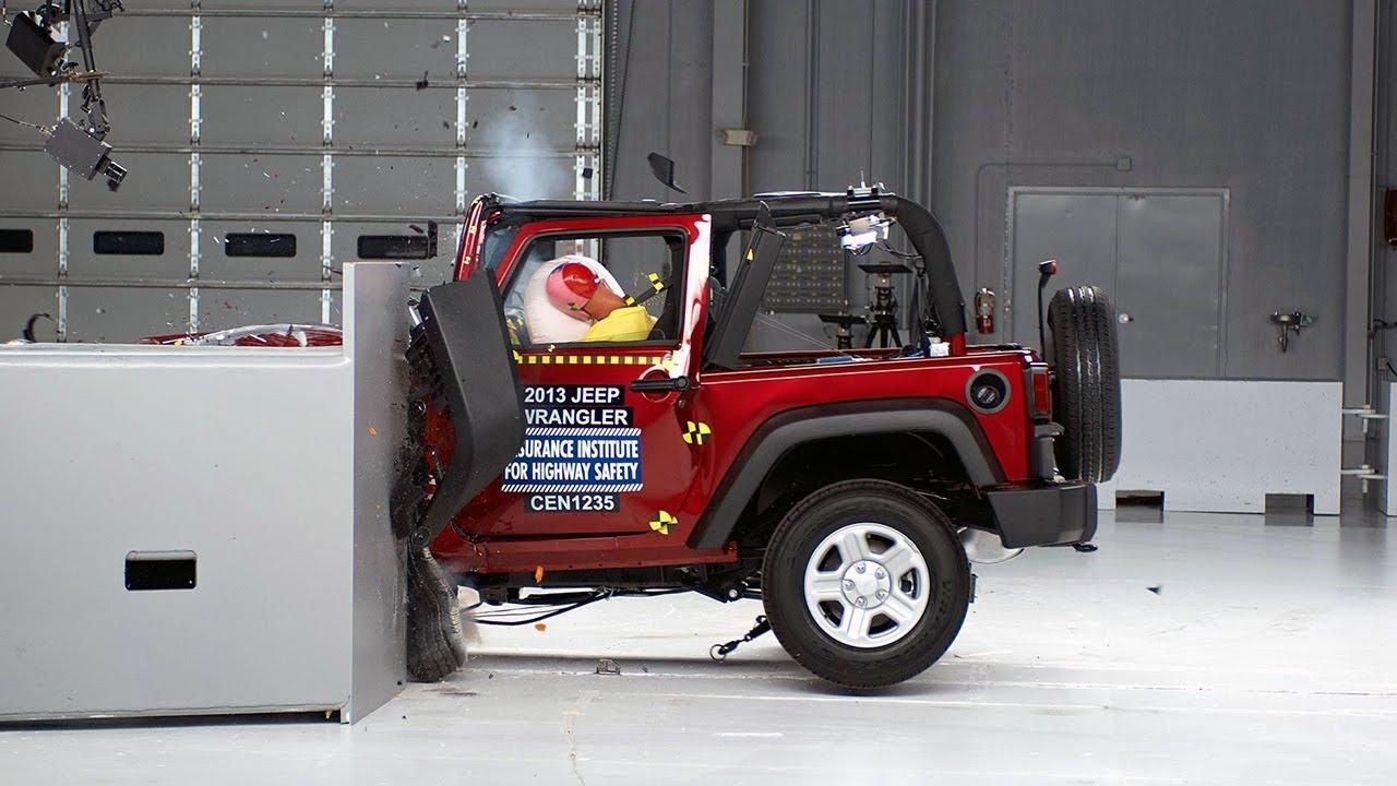 crash test results for 2012 jeep wrangler sport 4 door. Black Bedroom Furniture Sets. Home Design Ideas