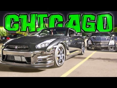 Chicago STREET RACING!! 600-1000hp Street Cars!