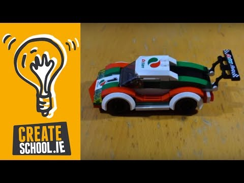 Lego Stop Motion: Assemble & Race