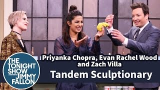 Tandem Sculptionary with Priyanka Chopra, Evan Rachel Wood and Zach Villa