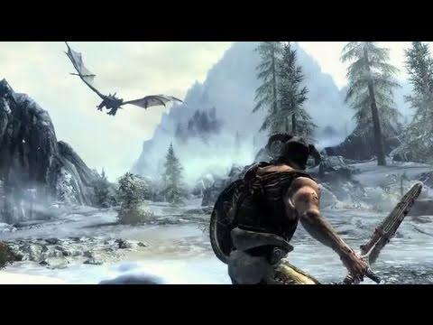 Elder Scrolls 5 :  Skyrim -  E3 2011 Trailer