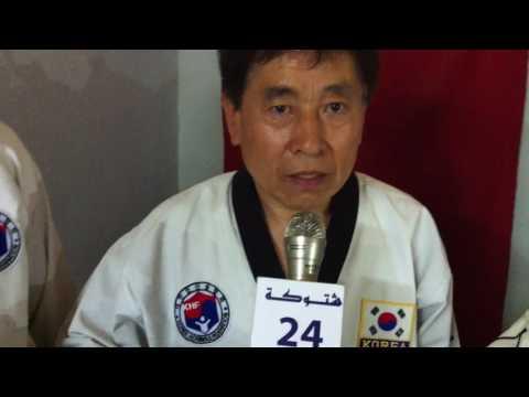 اشتــوكة 24 في حوار مع المدرب الكوري وونسونغ شــو
