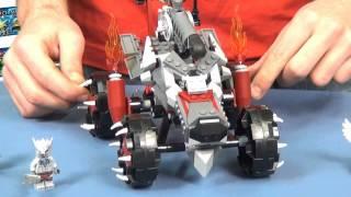 70004 Wakz's Pack Tracker / Wilczy Pojazd Wakza Lego