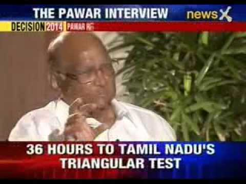 Sharad Pawar exclusive interview on NewsX