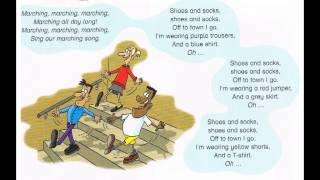 The marching song, Song for children