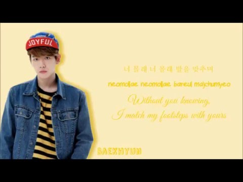 Exo-K - First Love (Korean Version) [Color-Coded Han/Rom/Eng]