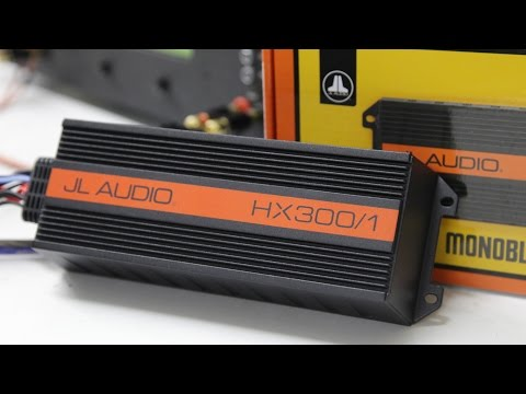 SONIC ELECTRONIX CERTIFIED AMP:JL Audio HX300/1