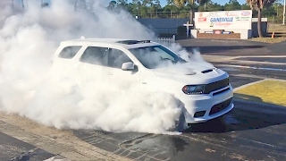 2018 Dodge Durango SRT Burnout. YouCar Car Reviews.