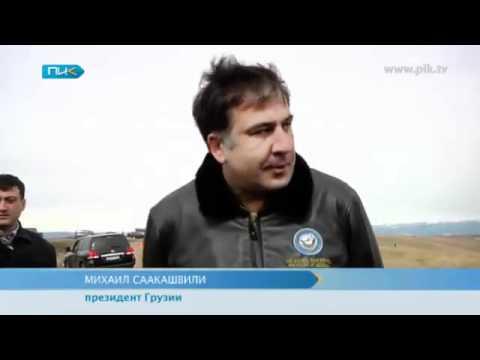 Новая грузинская реактивная система залпового огня.