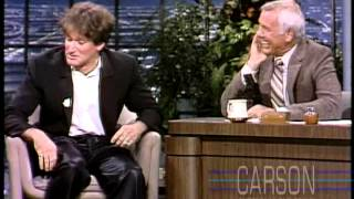 Johnny Carson: Robin Williams 1st Appearance, 1991