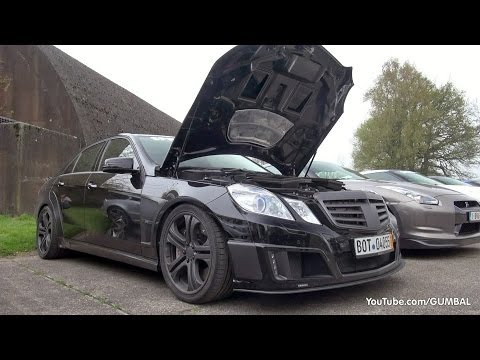 Mercedes-Benz Brabus E V12 Sedan 800HP