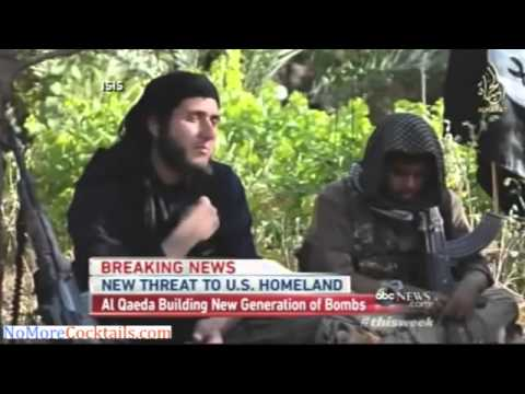 Al Qaeda now in Syria working to create next gen bombs to bring down planes