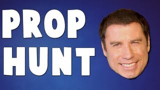 JOHN TRAVOLTA COOL! (Gmod Prop Hunt with SeaNanners, Hutch, Diction, Gassy, Chilled)