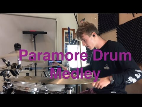Paramore - Drum Medley - (Ain't it Fun, Still into You, + More)