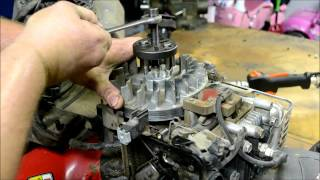BRIGGS AND STRATTON LAWN MOWER ENGINE REPAIR : HOW TO